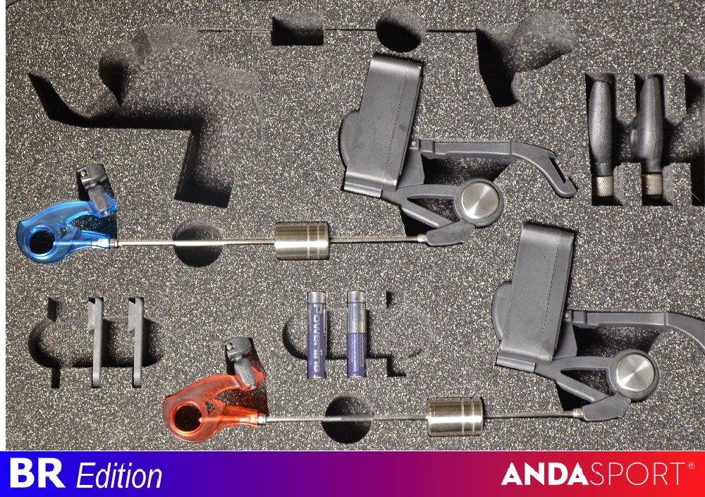 ANDA indikátory-2ks v kufírku,dioda M+Č