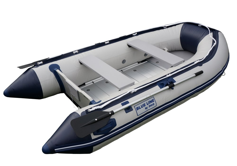 člun ZICO-BL290,pevná záď,Alu podlaha,vesla,pumpa