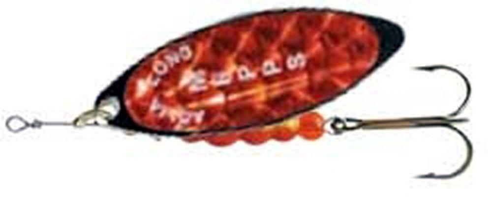 Třpytka Mepps Aglia Long vel.4 perl.červená/černá