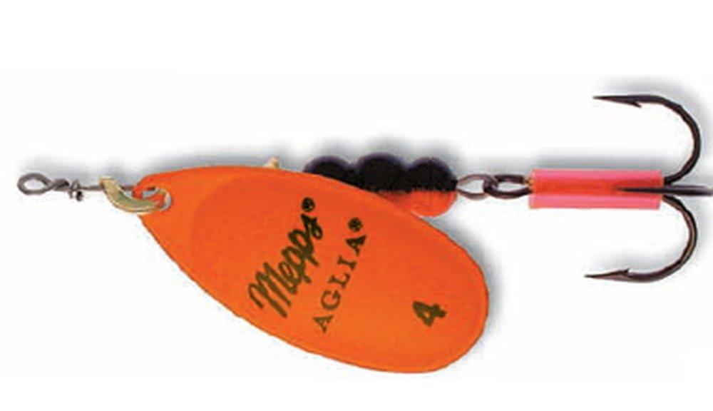 Třpytka Mepps Aglia Fluo vel.4 oranžová