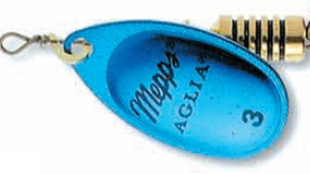 Třpytka Mepps Aglia Platium vel.5  stříbrná/modrá