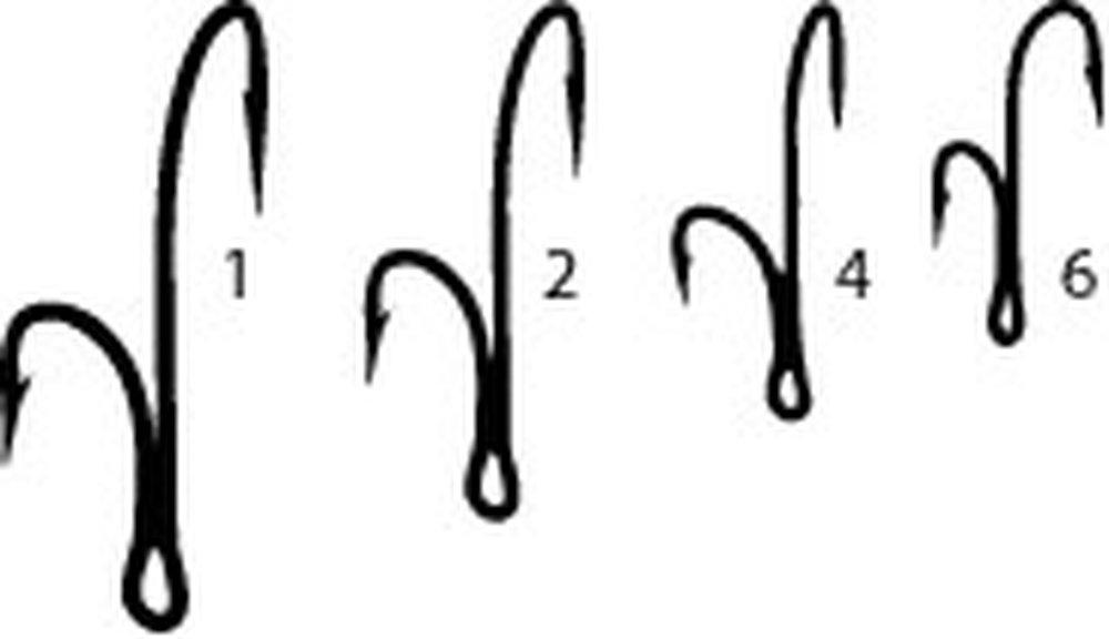 dvojháček Mustad CL-candát vel.06 /10ks/35890CL.06