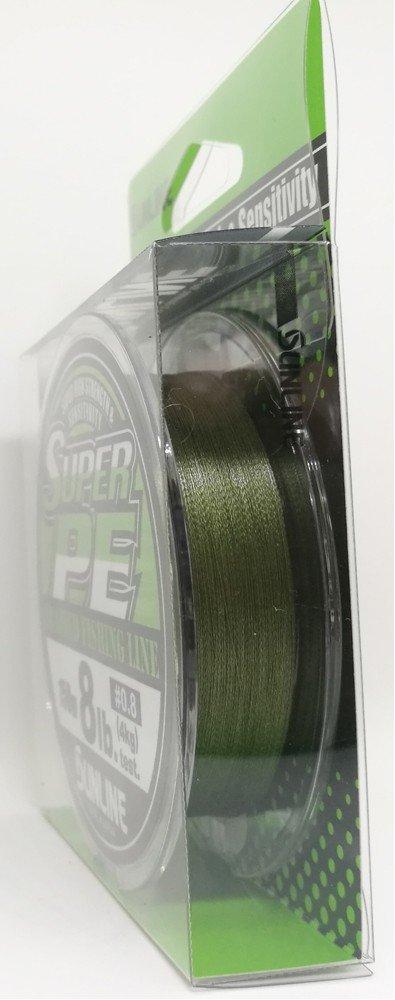 SUNLINE šňůra NEW SUPER PE 150m/4 Lbs/0,108 mm-DGR
