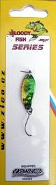 Třpytka ZICO Bloody fish,30 mm,3,8g-zelená/zlatá