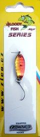 Třpytka ZICO Bloody fish,30 mm,3,8g-červená/zlatá