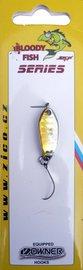 Třpytka ZICO Bloody fish,30 mm,3,8g-zlatá/stříbrná