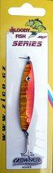 Třpytka ZICO Bloody fish,45 mm,5g-oranžová