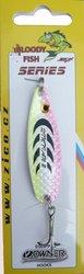 Třpytka ZICO Bloody fish,60 mm,12g-růžová/žlutá