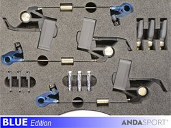 ANDA indikátory-3ks v kufírku,dioda M+M+M