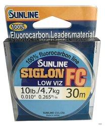 SUNLINE Fluorocarbon SIGLON FC 30m,0.265mm/4.7 kg