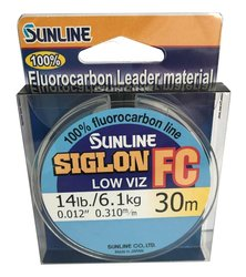 SUNLINE Fluorocarbon SIGLON FC 30m,0.310mm/6.10 kg
