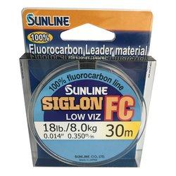 SUNLINE Fluorocarbon SIGLON FC 30m,0.350mm/8.0 kg