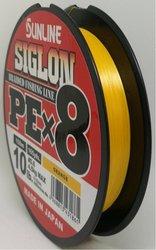 SUNLINE šňůra SIGLON PEx8 150m/10 Lbs/0,132 mm-OR