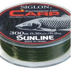 SUNLINE vlasec SIGLON CARP 300m,0.30mm/6.2 kg-GR